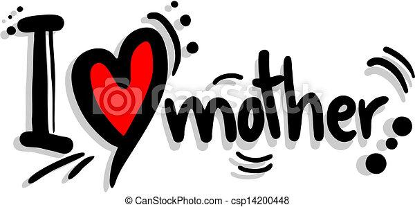 Love mother - csp14200448