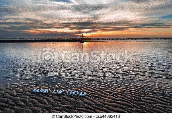 Love of God Beach - csp44662418