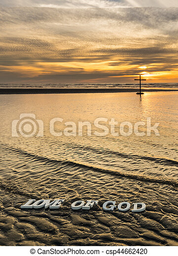 Love of God Waters - csp44662420