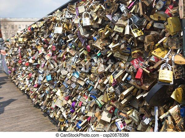 Brooklyn Bridge Love Locks