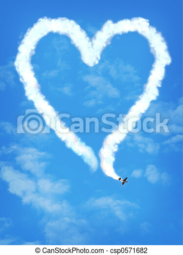 love plane - csp0571682