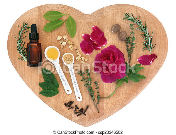 Love Potion Ingredients - csp23346582