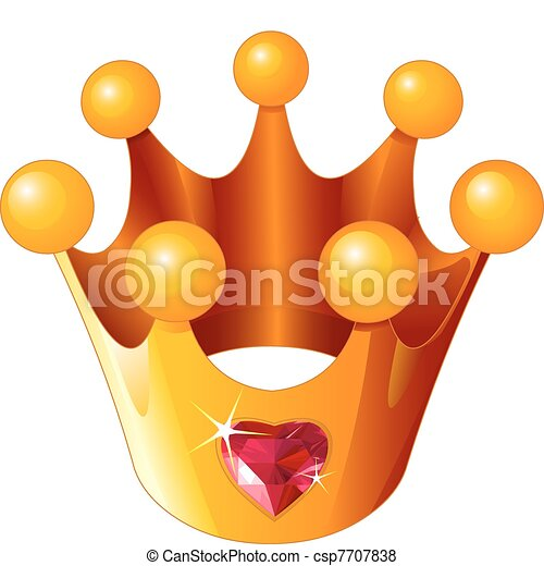 Love Princess crown - csp7707838