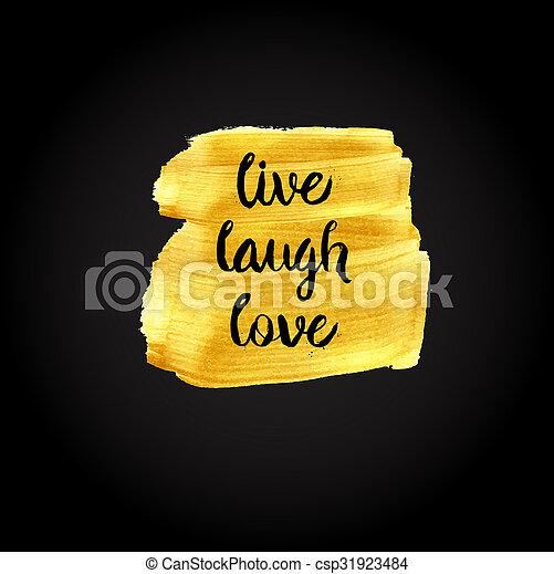love., quot, motivációs, él, nevet, belélegzési - csp31923484