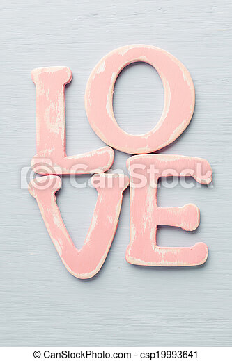 love. - csp19993641