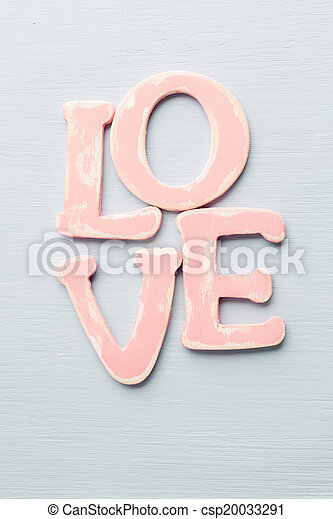 love. - csp20033291