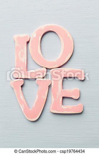 love. - csp19764434