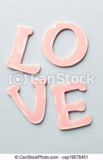 love. - csp19578451