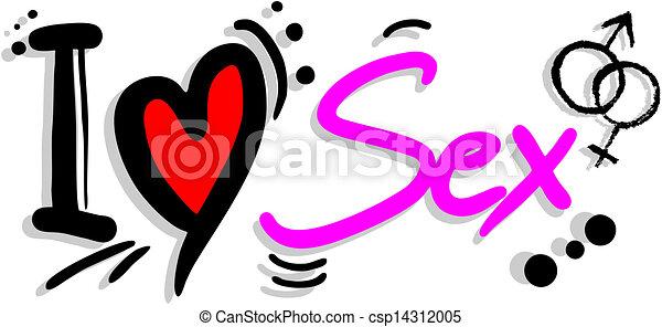 love sex creative design of love sex rh canstockphoto ca Kiss Clip Art sex education clipart