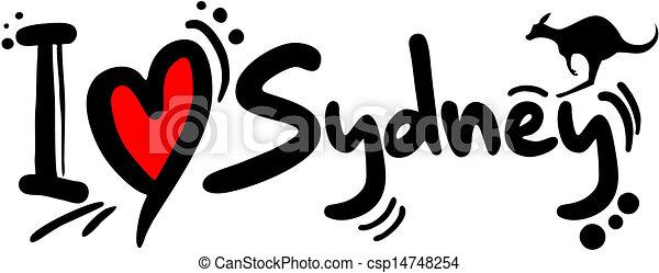 Love sydney - csp14748254