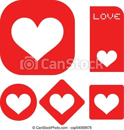 Creative Design Of Love Symbols