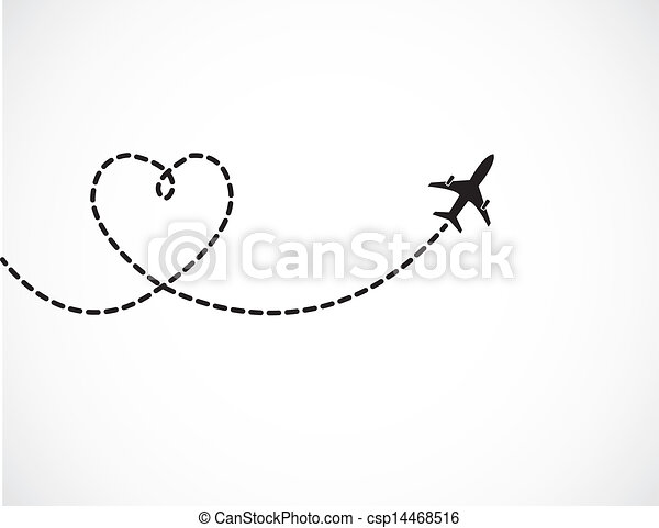 Love Travel Concept - csp14468516