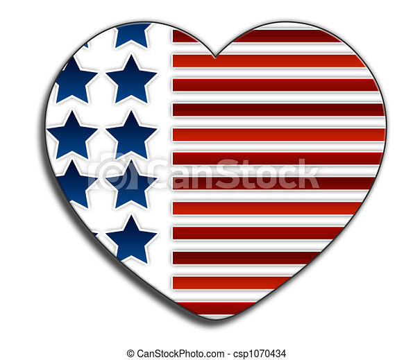 Love USA - csp1070434