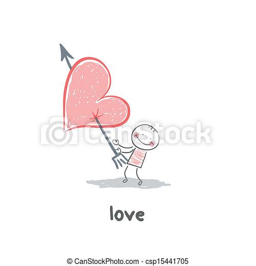 Love - csp15441705