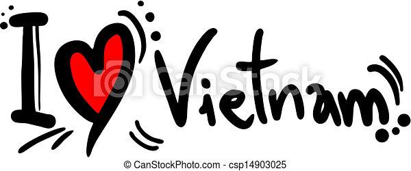 Love Vietnam - csp14903025