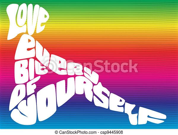 Love Yourself - csp9445908