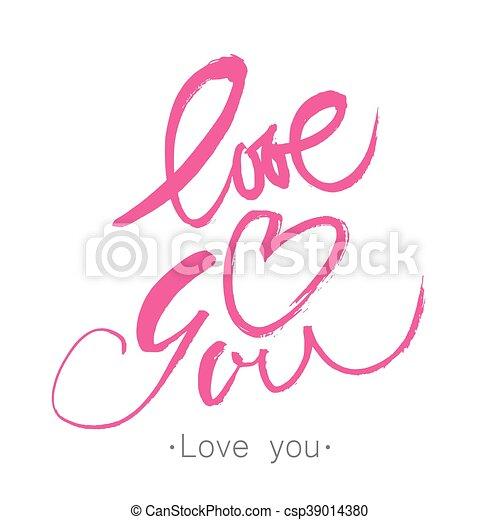 Te quiero - csp39014380