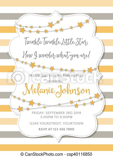 Lovely baby shower card - csp40116850