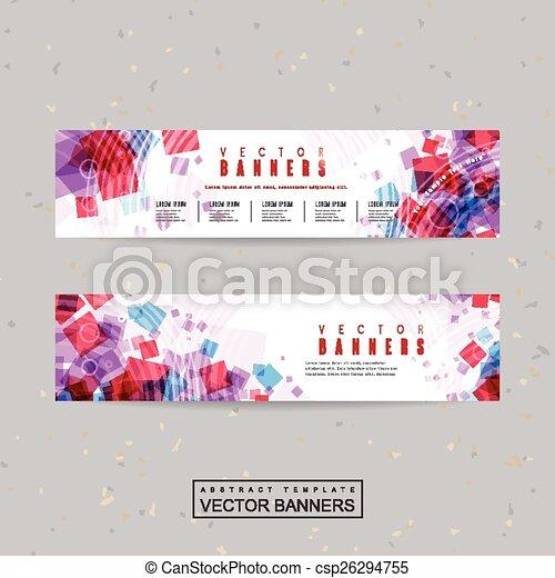 lovely banner template design