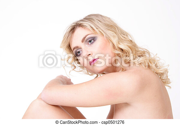 Lovely blond girl  - csp0501276