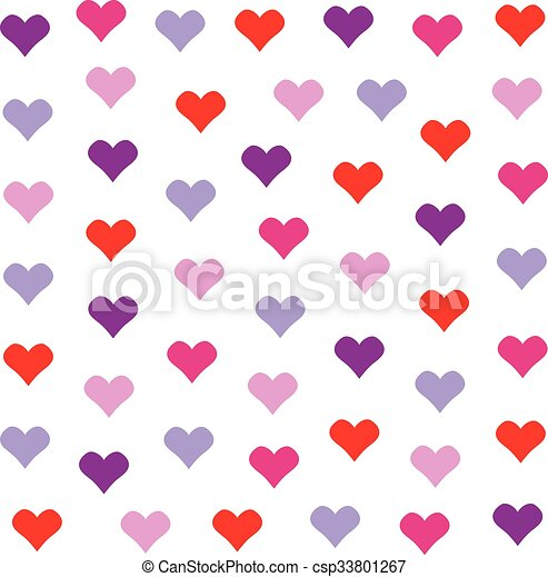 Lovely heart background in pretty colors valentines day clip lovely heart background in pretty colors valentines day vector design voltagebd Images