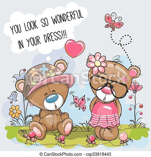 Lovers Bears - csp33918443