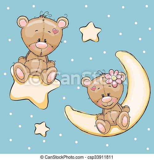 Lovers Bears - csp33911811