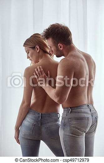 Lovers in jeans - csp49712979