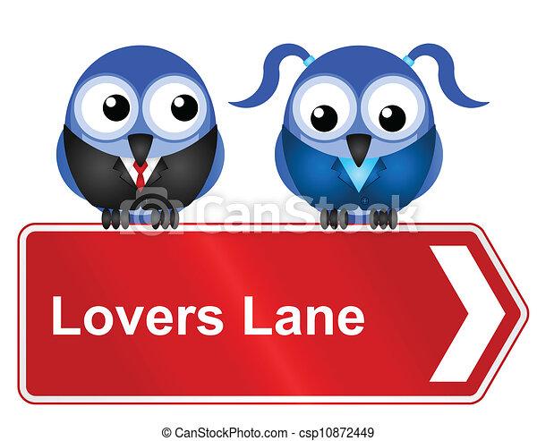 lovers lane  - csp10872449