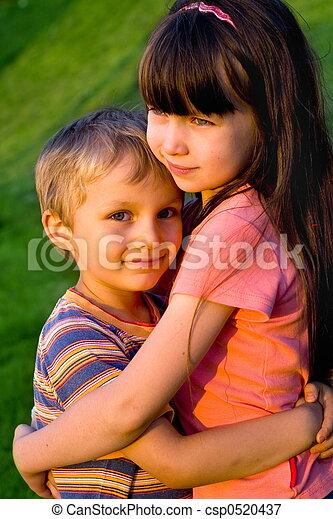 loving children - csp0520437