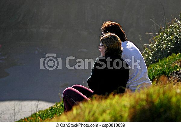 Loving couple - csp0010039