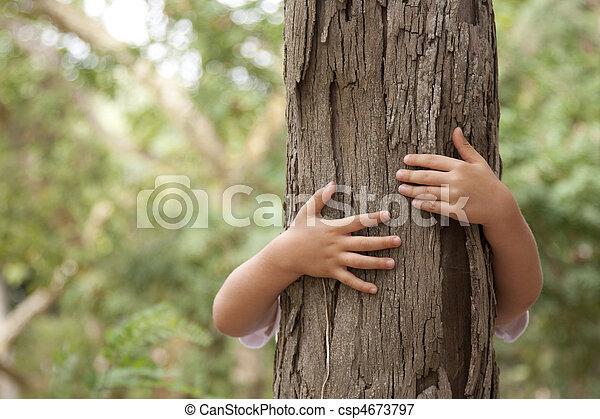 Loving nature - csp4673797