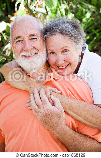 Loving Senior Couple - csp1868129