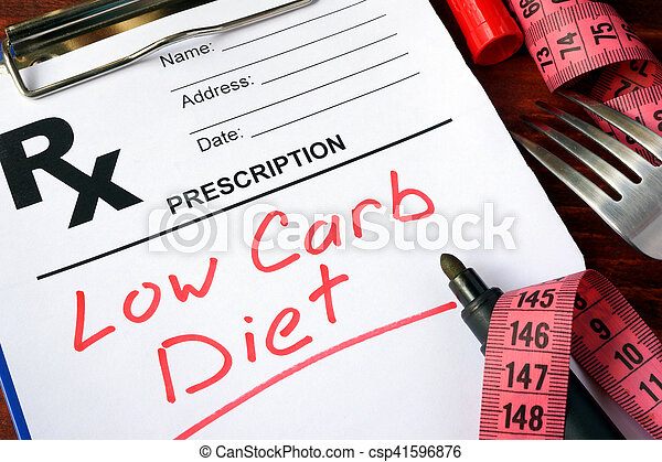 low carb diet - csp41596876