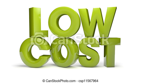 low cost - csp11567964