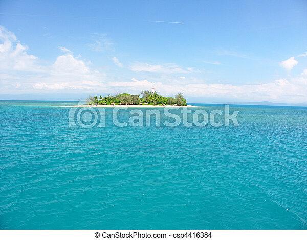 Low Isles - Queensland Australia - csp4416384