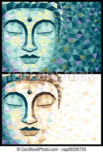 Low Poly Buddha - csp26330733