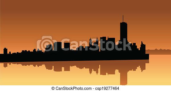 Lower Manhattan - csp19277464