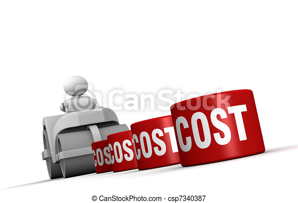 Lowering costs - csp7340387