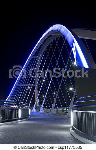 Lowry Avenue Bridge Walkway - csp11775535