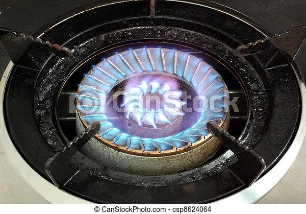 lpg, brûleur gaz - csp8624064