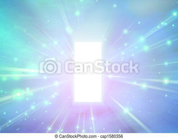luce, astratto - csp1580356