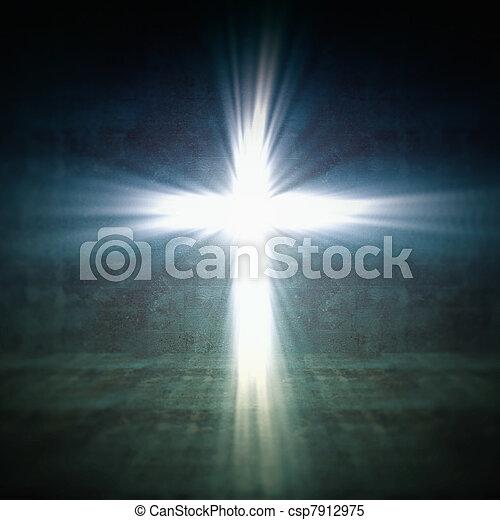 luce, croce - csp7912975