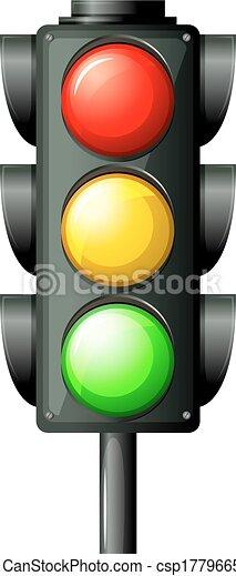 luce, traffico - csp17796652