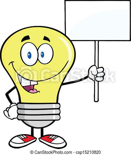 luce, vuoto, bulbo, segno - csp15210820