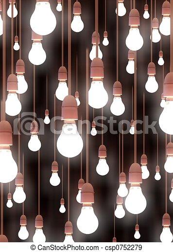 luces, ahorcadura - csp0752279