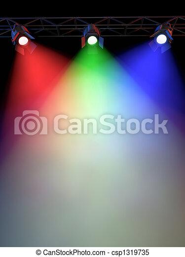 Luces de escenario - csp1319735