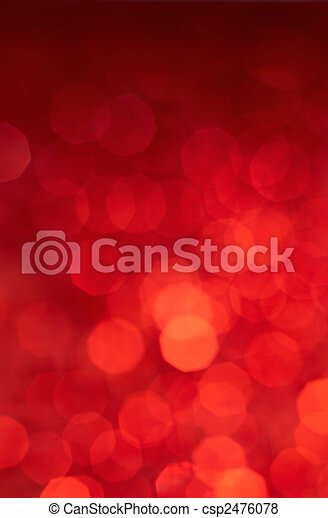 luces, fondo rojo - csp2476078