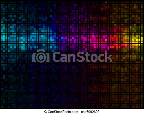 Luces abstractas multicolores - csp6092693