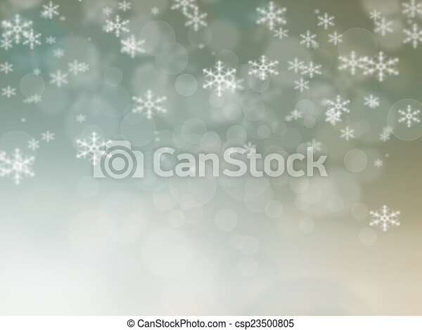 Abstraer el fondo navideño de luces navideñas - csp23500805